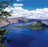 Crater Lake at Crater Lake National Park, Oregon