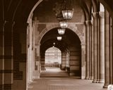 Arches of Royce Hall, University of California, Los Angeles, California, USA