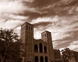 Clouds over the Royce Hall, University of California, Los Angeles, California, USA