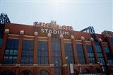 Facade of the Lucas Oil Stadium, Indianapolis, Indiana
