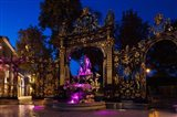 Fountain at a square, Place Stanislas, Nancy, Meurthe-et-Moselle, Lorraine, France