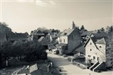 Houses in a village, Brancion, Maconnais, Saone-et-Loire, Burgundy, France