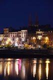 Buildings at the Waterfront, Quai Lamartine, Saone River, Macon, Burgundy, Saone-et-Loire, France