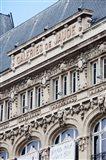 Facade of a department store, Place de Jaude, Clermont-Ferrand, Auvergne, Puy-de-Dome, France
