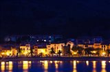 Buildings at the waterfront, Collioure, Vermillion Coast, Pyrennes-Orientales, Languedoc-Roussillon, France