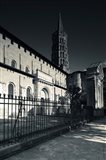 Entrance of the Basilica of St. Sernin, Toulouse, Haute-Garonne, Midi-Pyrenees, France