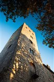 Pope John XXII tower at Cahors, Lot, Midi-Pyrenees, France