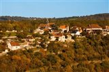 Overview of L'Hospitalet village, Rocamadour, Lot, Midi-Pyrenees, France