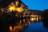 Dordogne River, La Roque-Gageac, Dordogne, Aquitaine, France