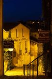 Street view at dawn, Saint-Emilion, Gironde, Aquitaine, France