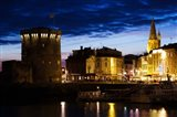 Tour de la Chaine tower, Old Port, La Rochelle, Charente-Maritime, Poitou-Charentes, France