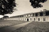 Facade of the rope making factory of the French Navy, Corderie Royale, Rochefort, Charente-Maritime, Poitou-Charentes, France