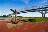 Blue Water Bridge at Port Huron, Michigan, USA