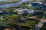 Field Museum and Soldier Field, Chicago, Illinois