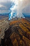 Steaming Volcano, Kilauea, Kauai, Hawaii