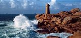 Ploumanac'h Lighthouse, Perros-Guirec, Cotes-d'Armor, Brittany, France