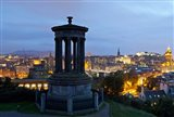 Dougald Stewart Monument on Calton Hill, Edinburgh, Scotland