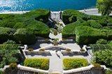 Entrance of a villa, Villa Carlotta, Tremezzo, Lake Como, Lombardy, Italy