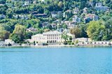 Buildings on a hill, Villa Olmo, Lake Como, Lombardy, Italy