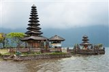 Pura Ulun Danu Bratan temple on the edge of Lake Bratan, Baturiti, Bali, Indonesia