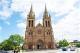 Facade of a cathedral, St. Peter's Cathedral, Adelaide, South Australia, Australia