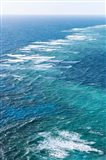 Waves Breaking on Great Barrier Reef, Queensland, Australia