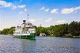 Wenonah II steamship in a lake, Lake Muskoka, Gravenhurst Bay, Ontario, Canada