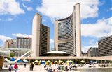 Toronto City Hall, Nathan Phillips Square, Toronto, Ontario, Canada