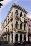 Buildings along the street, Havana, Cuba