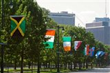 National Flags, Philadelphia, Pennsylvania