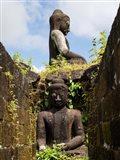 Buddha statues at Koe Thaung Temple, Myanmar