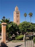 Koutoubia Minaret built by Yacoub el Mansour, Marrakesh, Morocco