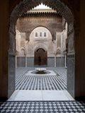 Al-Attarine Madrasa built by Abu al-Hasan Ali ibn Othman, Fes, Morocco