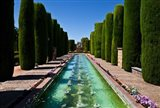 The Gardens of the Alcazar de los Reyes Cristianos, Spain