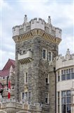 Tower on Casa Loma Castle, Toronto, Ontario, Canada