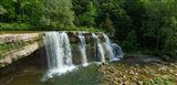 Ludlowville Falls on Salmon Creek, Finger Lakes, New York State