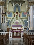 Interiors of Mount Mary Church, Bandra, India