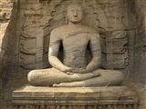 Buddha Figure at Gal Vihara, Polonnaruwa, Sri Lanka