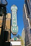 Portland Landmark Sign, Portland, Oregon