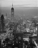 1960s Night View Manhattan Empire State Building