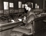 1930s Woman Telephone Operator