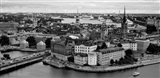High angle view of a city, Stockholm, Sweden