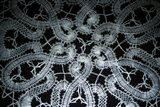 Bruges Belgium Detail Of Hand Made Lace