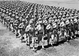 1940s Ranks And Files Rows Of World War Two