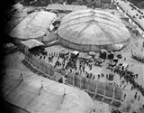 1930s Aerial View Of Circus Tents