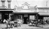 1880S 1885 Men Standing Next To Horse
