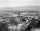 1940s View Overlooking Universal City Ca Usa