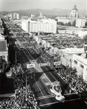 1940s 1950s Aerial View Tournament Of Roses Parade?
