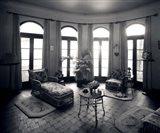 1920s Interior Upscale Solarium French Doors Windows