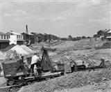 1950s Construction Mechanical Plumbing Drain